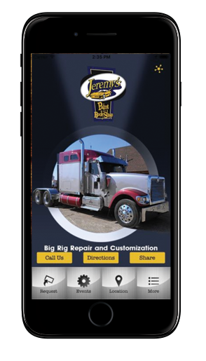 Download Our Mobile App – Jeremy's Body Shop